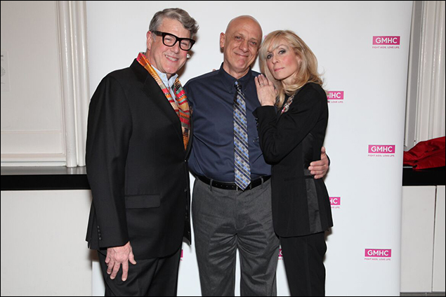 Jonathan Freeman, Tom Viola and Judith Light