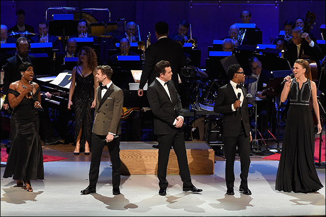 Fantasia, Kyle Dean Massey, Seth MacFarlane, Billy Porter, and Sutton Foster