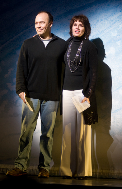 Danny Burstein and Beth Leavel at the 2011 Gypsy of the Year