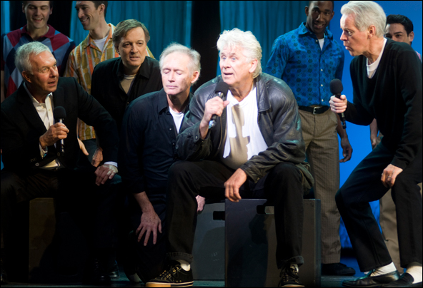Barry Bostwick and men of Grease at the 2011 Gypsy of the Year