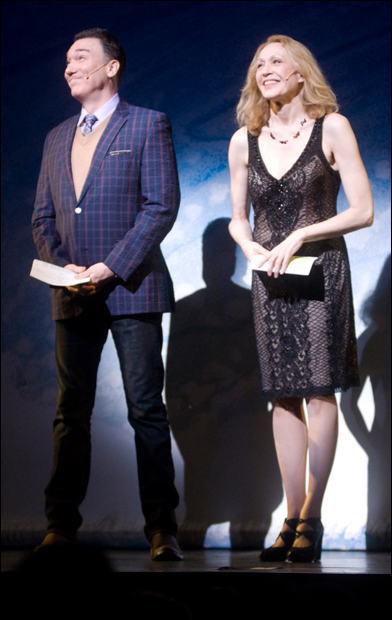 Patrick Page and Jan Maxwell at the 2011 Gypsy of the Year