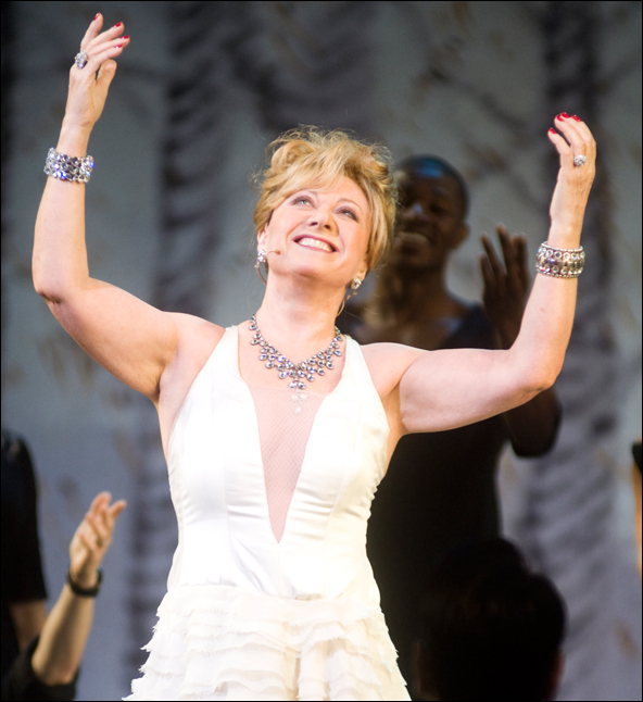 Elaine Paige at the 2011 Gypsy of the Year