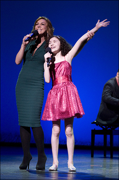 Andrea McArdle and Lilla Crawford at the 2012 Gypsy of the Year