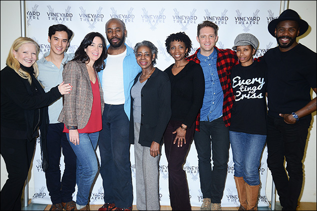 Susan Stroman, Michael Rosen, Finnerty Steeves, Stephen Conrad Moore, Marjorie Johnson, Sharon Washington, Colin Hanlon, Libya V. Pugh and Colman Domingo