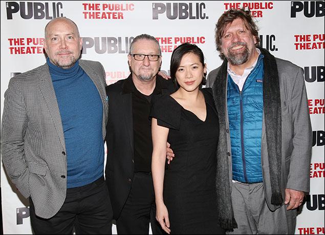 Patrick Willingham, Mark Russell, Meiyin Wang and Oskar Eustis