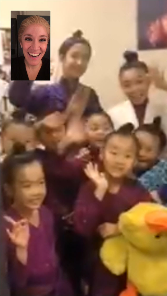 And FaceTiming with the King and I kids.  They're pretty awesome.