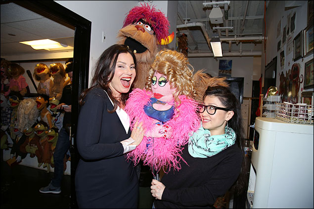 Fran Drescher, Trekkie Monster, Lucy The Slut, Katie Boren,