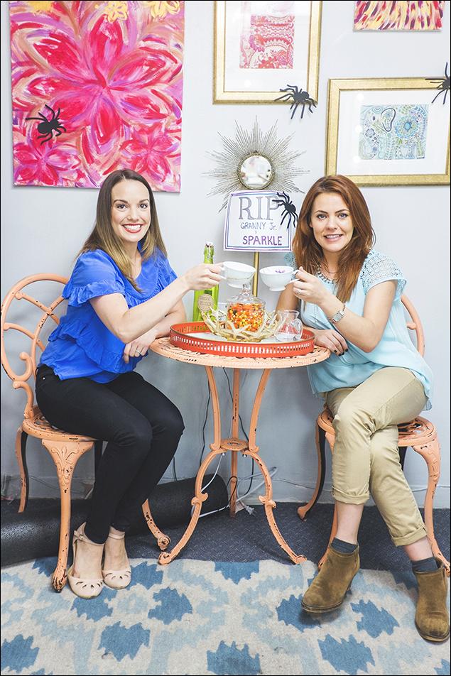 Kara Lindsay and Rachel Tucker