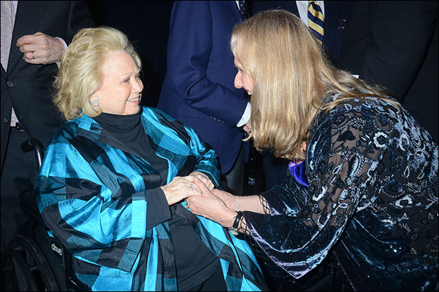 Barbara Cook and Nancy Rhodes