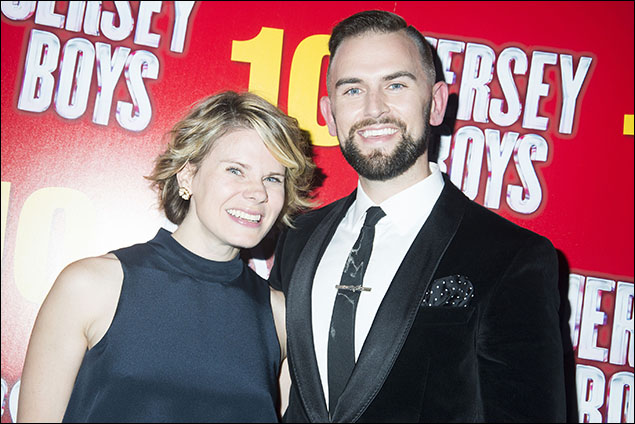 Celia Keenan-Bolger and Daniel Reichard