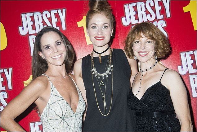 Sara Schmidt, Erica Piccininni and Jennifer Naimo