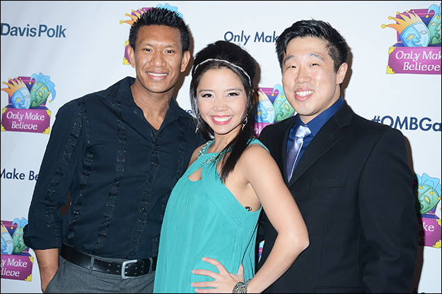 Albert Guerzon, Catherine Ricafort and Ray Lee