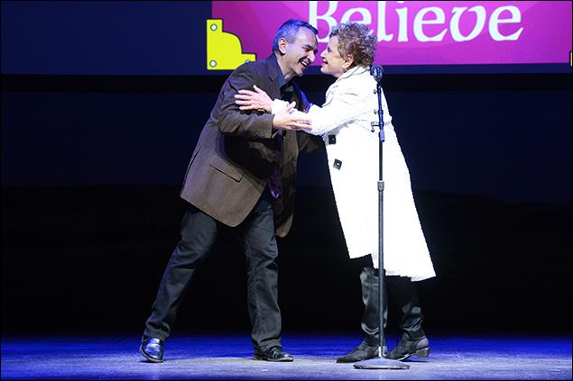 Joe Dipietro and Dena Hammerstein