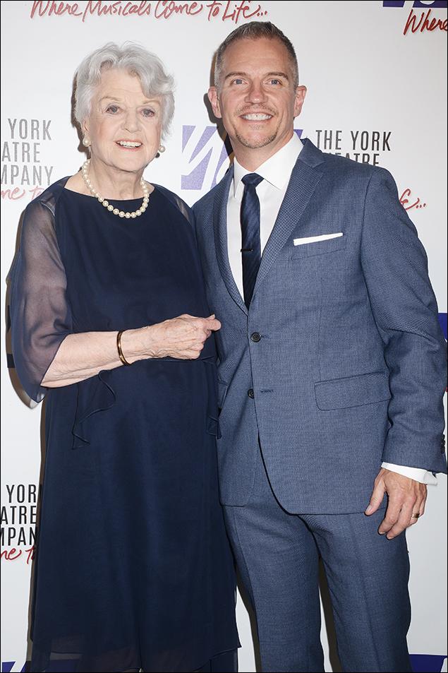 Angela Lansbury and Kurt Stamm