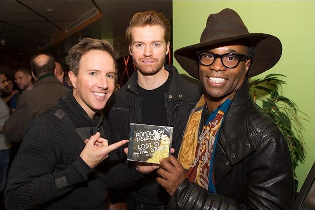 Paul Canaan and Billy Porter and guest