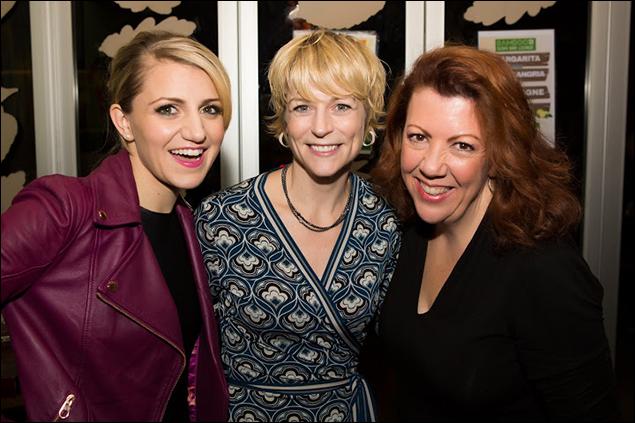 Annaleigh Ashford, Lisa Brescia, and Jennifer Perry
