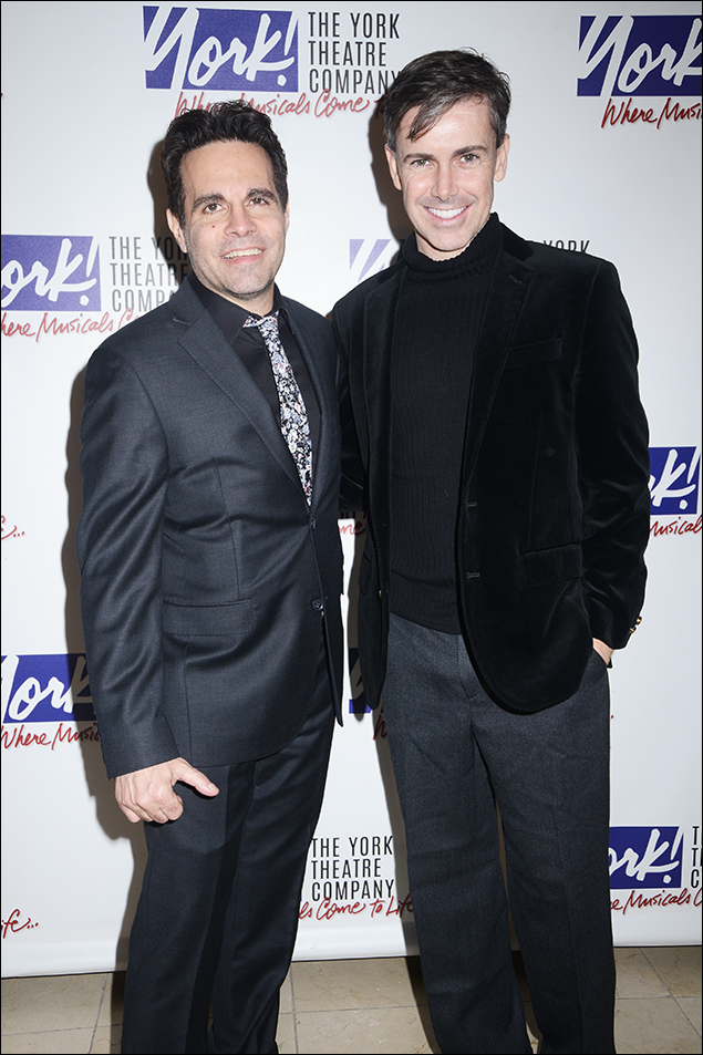 Mario Cantone and Matt McGrath