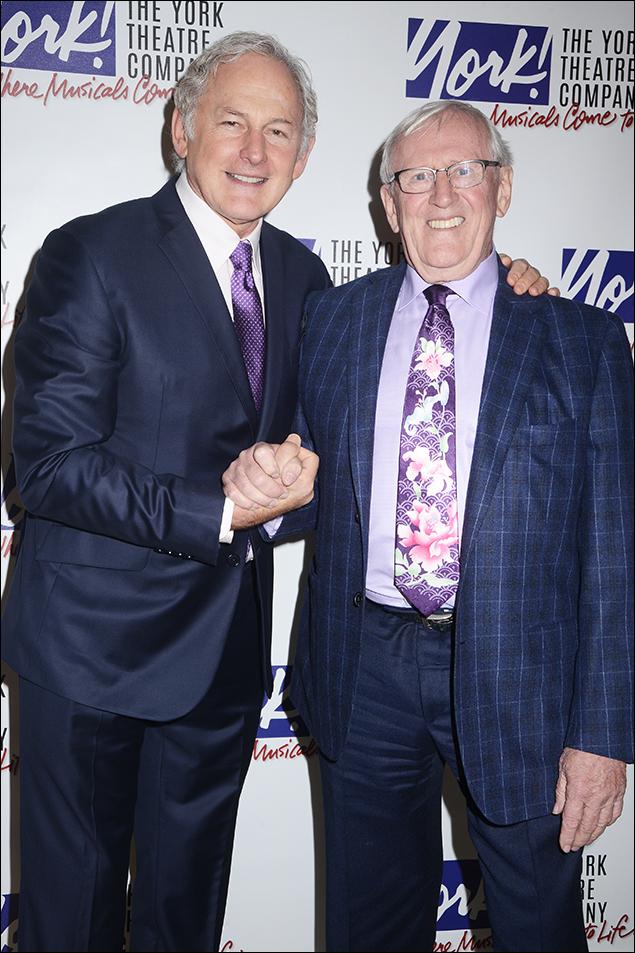 Victor Garber and Len Cariou