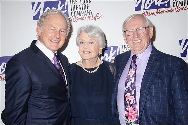 Victor Garber, Angela Lansbury and Len Cariou