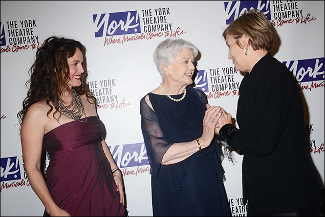Melissa Errico, Angela Lansbury and Karen Mason