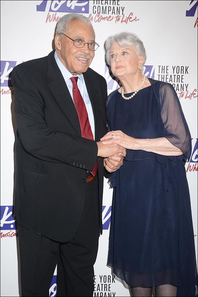 James Earl Jones and Angela Lansbury