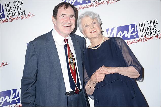 Richard Kind and Angela Lansbury