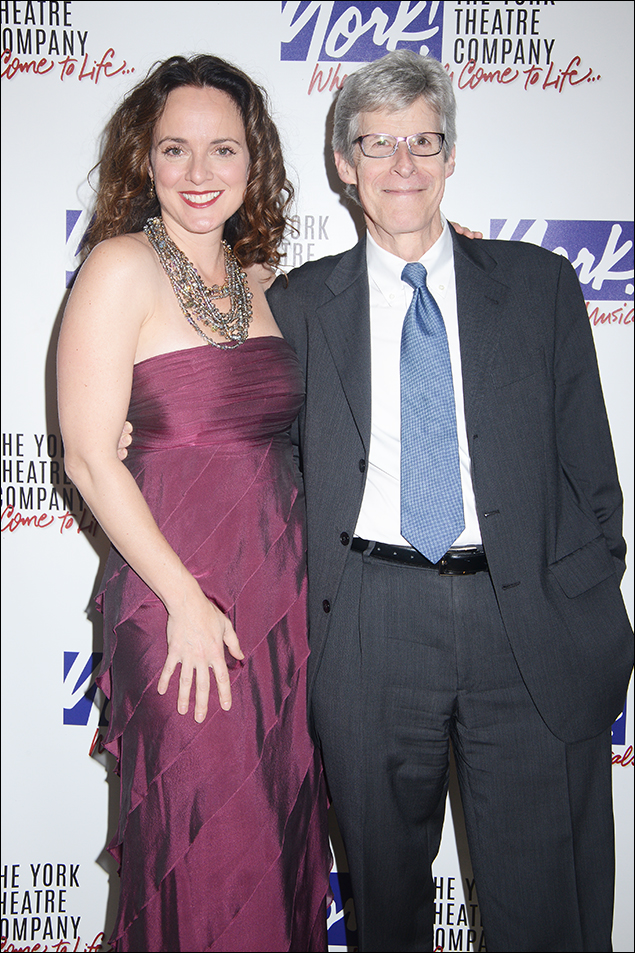 Melissa Errico and Ted Chapin