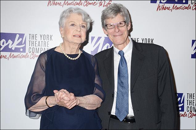Angela Lansbury and Ted Chapin