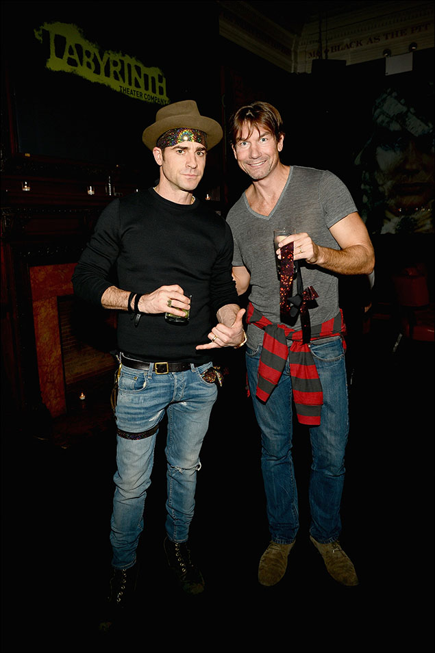 Justin Theroux and Jerry O'Connell
