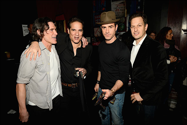 Billy Crudup, Yul Vazquez, Justin Theroux and Josh Charles