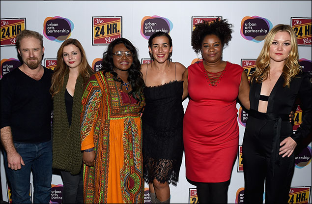 "Ben Foster, Amber Tamblyn, Alyssa ""Lady Logic"" Saunders, Patricia McGregor, Adrienne C. Moore and Julia Stiles"