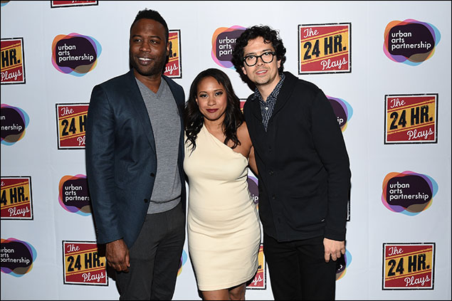 Kevin Daniels, Tracie Thoms and Geoffrey Arend