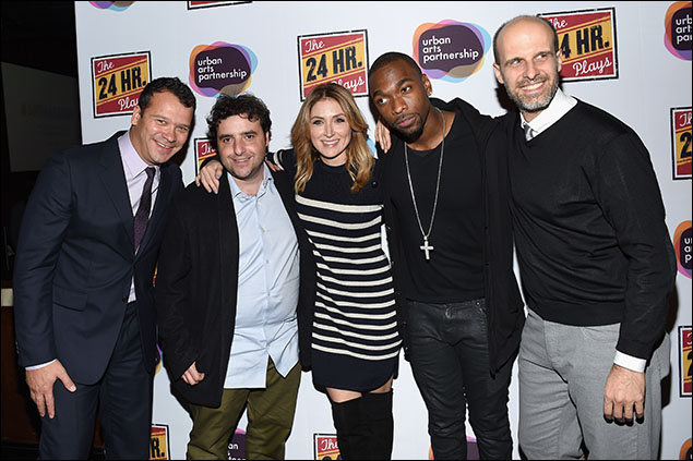 Philip Courtney, David Krumholtz, Sasha Alexander, Jay Pharoah and Edoardo Ponti