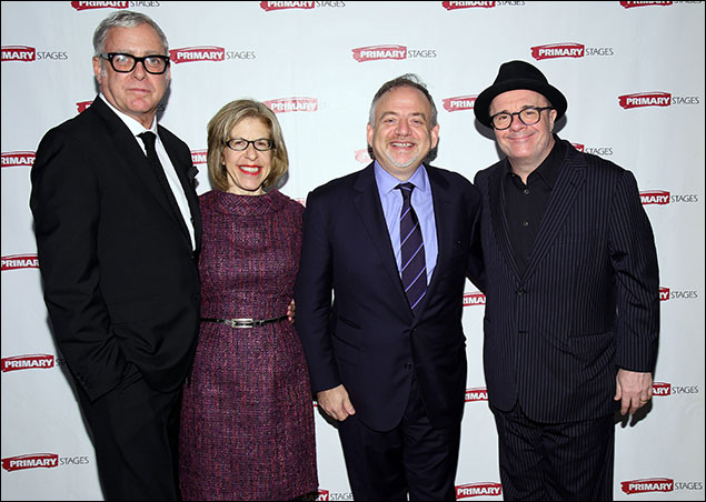 Scott Wittman, Jackie Hoffman, Marc Shaiman and Nathan Lane
