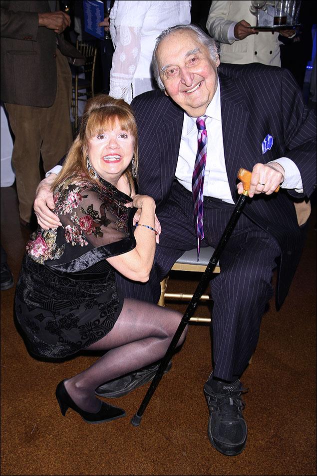 Annie Golden and Fyvush Finkel