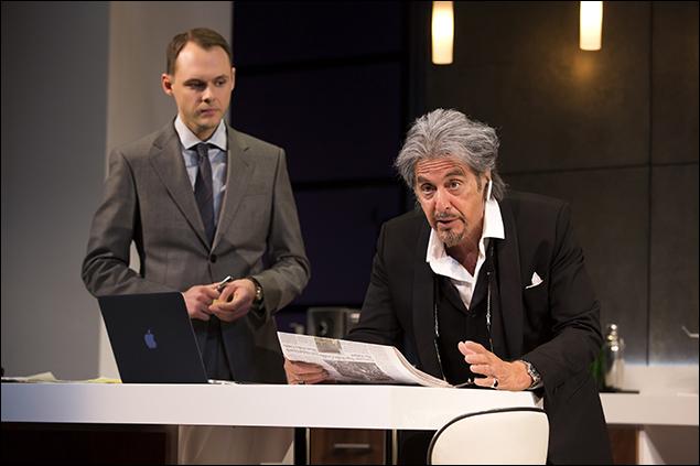 Christopher Denham and Al Pacino