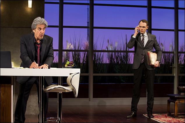 Al Pacino and Christopher Denham