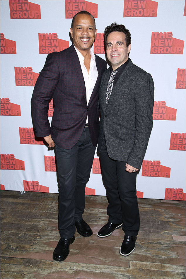 Jerry Dixon and Mario Cantone
