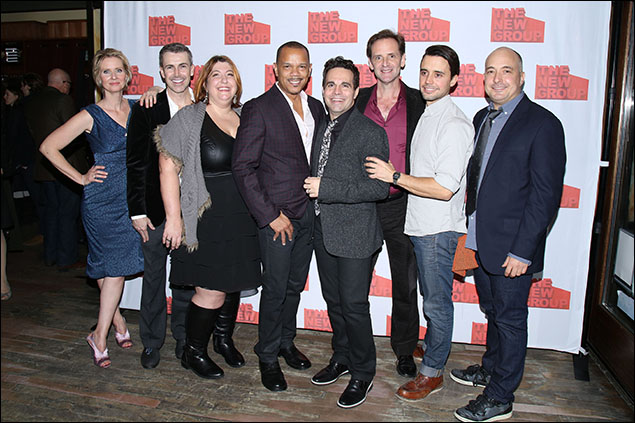 Cynthia Nixon, Matt McGrath, Ashlie Atkinson, Jerry Dixon, Mario Cantone, Malcolm Gets, Francisco Pryor Garat and Mark Gerrard