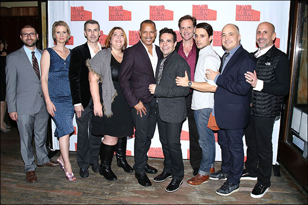 Adam Bernstein, Matt McGrath, Ashlie Atkinson, Jerry Dixon, Mario Cantone, Malcolm Gets, Francisco Pryor Garat, Mark Gerrard and Scott Elliott