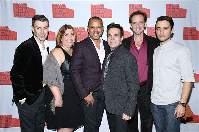 Matt McGrath, Ashlie Atkinson, Jerry Dixon, Mario Cantone, Malcolm Gets and Francisco Pryor Garat