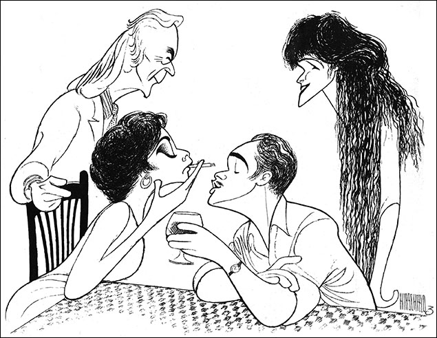 Aspects of Love, 1990 Kevin Colson, Ann Crumb, Michael Ball, and Kathleen Rowe McAllen