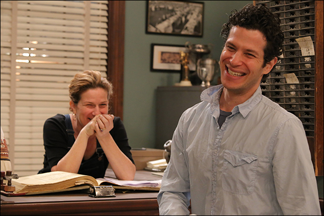 Ana Gasteyer and Tommy Kail