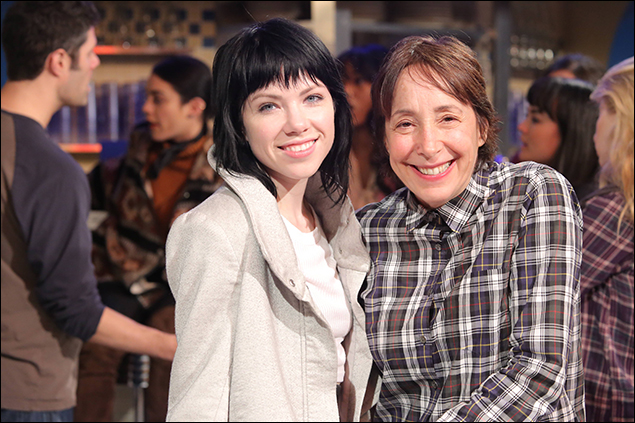 Carly Rae Jepsen and Didi Conn