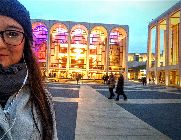 "It's New Years Eve! What a beautiful year this has been with new adventures, new friends, new stories, and getting to call this breathtaking haven my workplace. It's our last show of 2015 and Lincoln Center's revival of The King and I is the only show open on Broadway tonight... WOOOOHOOOO LET'S DO THIS!! Join me as I capture all the fun backstage as we whistle happy tunes, kiss in shadows, annnnd... pop some post-show bubblies! Right now, I'm on my way to our afternoon rehearsal ""put-in"" for our new Captain Orton!"