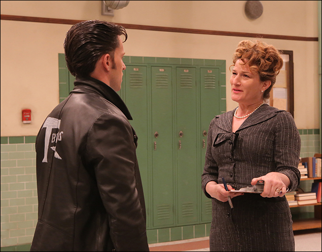 Andrew Call and Ana Gasteyer