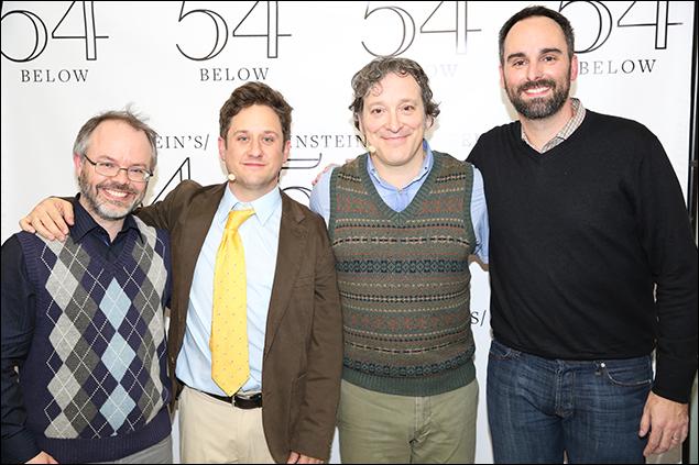 Scott Brown, Christopher Fitzgerald, Jeremy Shamos and Anthony King