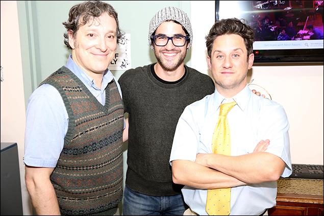 Jeremy Shamos, Darren Criss and Christopher Fitzgerald