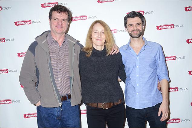 Michael Cumpsty, Jo Bonney and Michael Crane