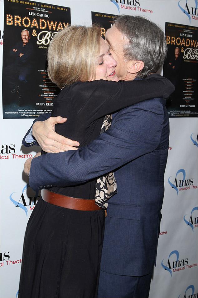 Karen Mason and Gregg Edelman